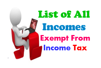 List-of-all-Incomes-Exempt-From-Income-Tax
