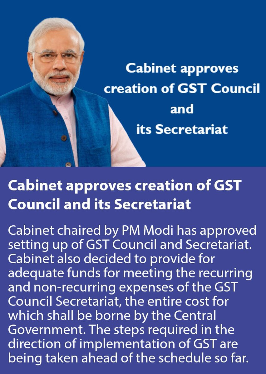 cabinet-approves-creation-of-gst-council-and-its-secretariat